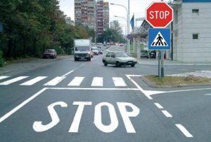 natpis stop