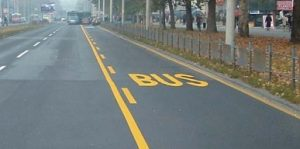 traka za vozila javnog prevoza